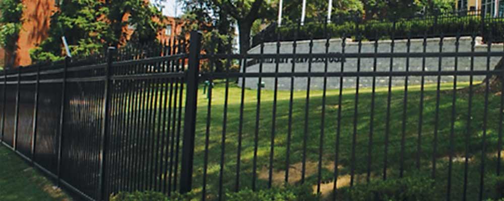 Industrial Iron Fences