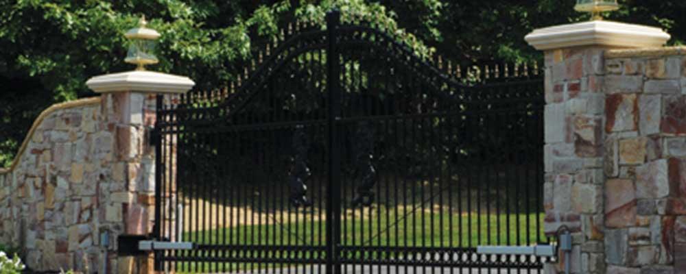 Maverick Residential Iron Fence