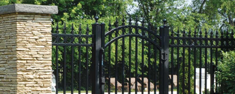 Commerical Iron Fences