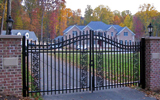Aluminum Steel Swing Gates