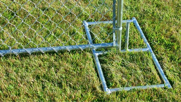Temporary Chain Link Panels Free Standing Temporary Fence