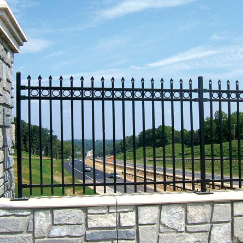 Barcelona Residential Aluminum Fence Fencing