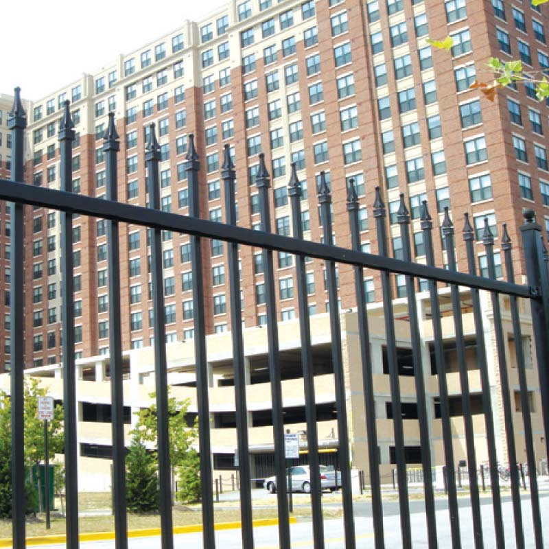 Georgetown Industrial Aluminum Fence Fencing