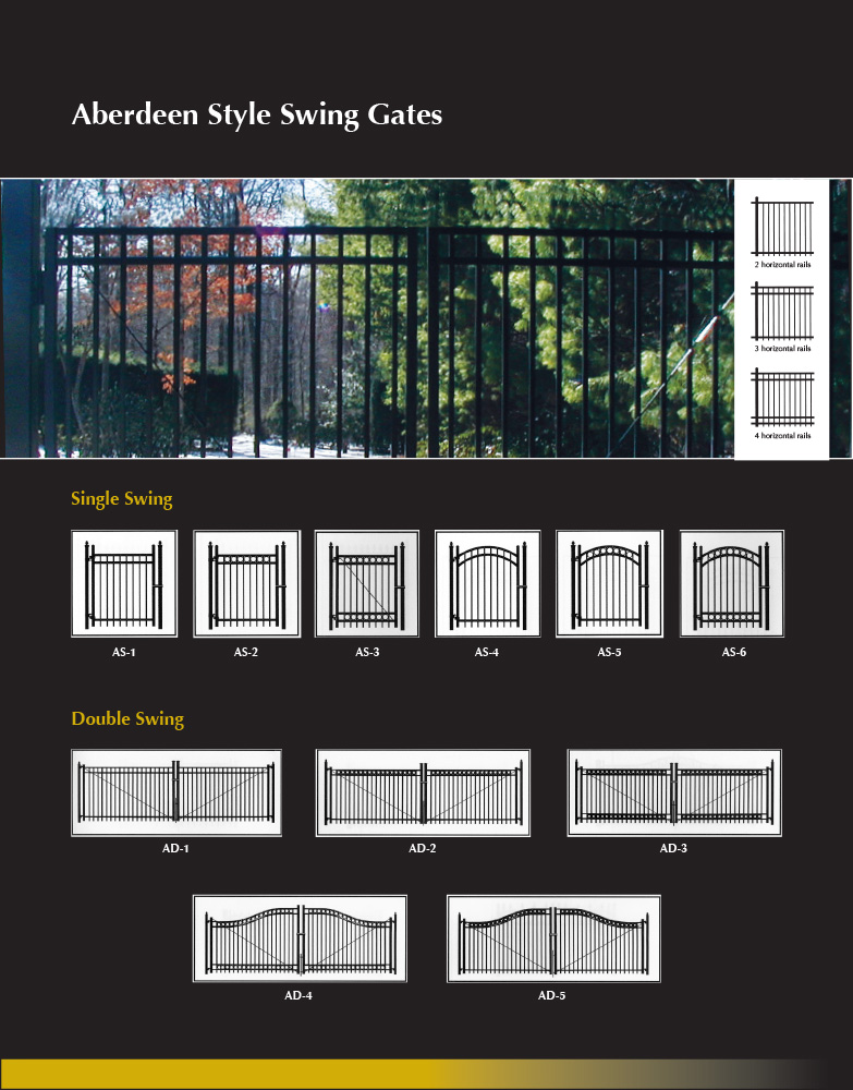 Single and Double Swing Gates